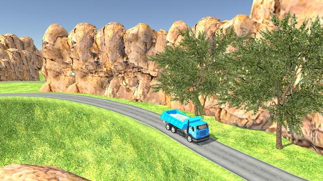 Euro Oil Truck Transport Sim screenshot 9