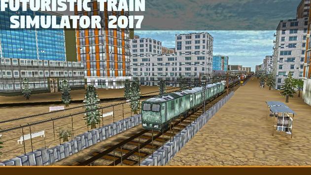 Futuristic Train Sim 2017 poster