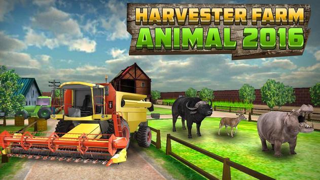 Harvester Farm Animal 2016 poster