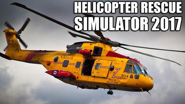 Helicopter Rescue Sim 2017 poster