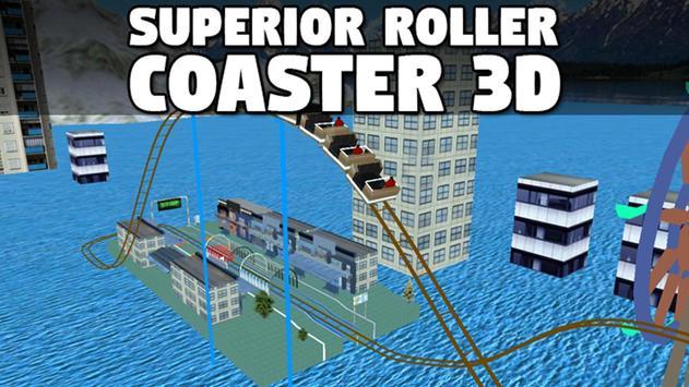 Superior Roller Coaster 3D poster