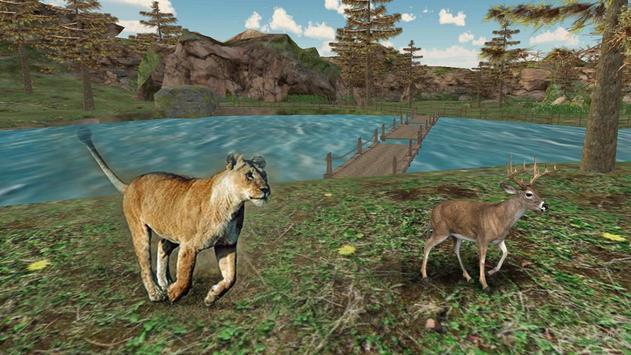 Wild Lion Hunt 2016 apk screenshot
