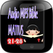Audio Mp3 Bible Matius icon
