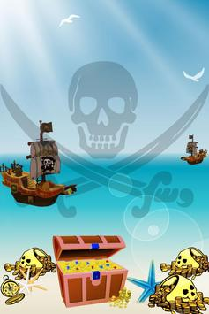 Escape the pirates - for kids poster