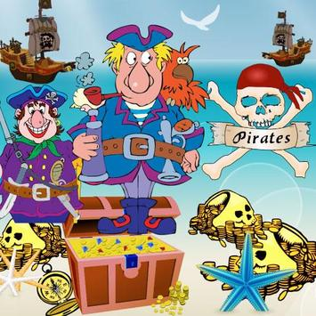 Escape the pirates - for kids apk screenshot