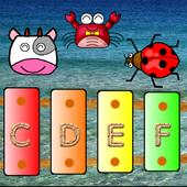 Xylophone4Baby under the sea icon