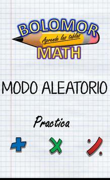 Bolomor Maths poster