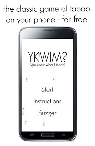 Ykwim Game Of Taboo Apk Download Free Word Game For Android