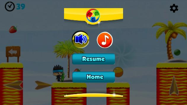 Super Ninja Jungle Adventures screenshot 3