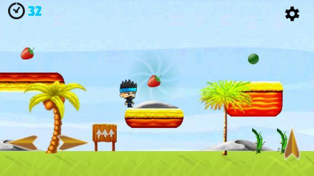 Super Ninja Jungle Adventures screenshot 1