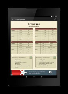 Deutsche Grammatik screenshot 8