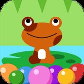 Icona Bubble Toad