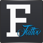 Text Tattoo Designer icon