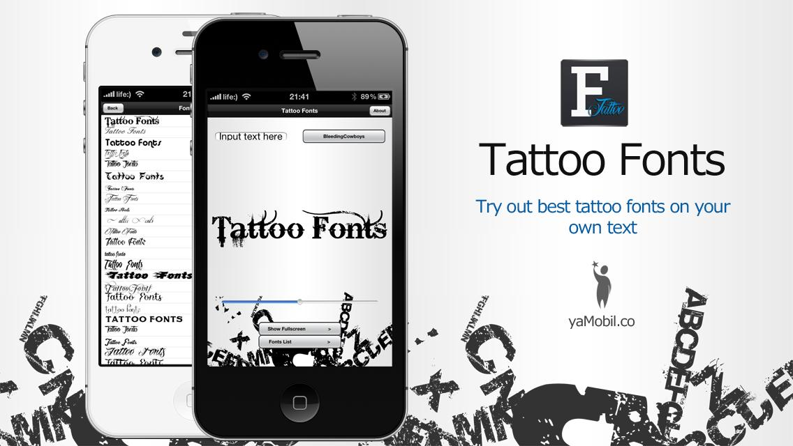 Tattoo Font Designer: Best Tattoo Design Apps For Android
