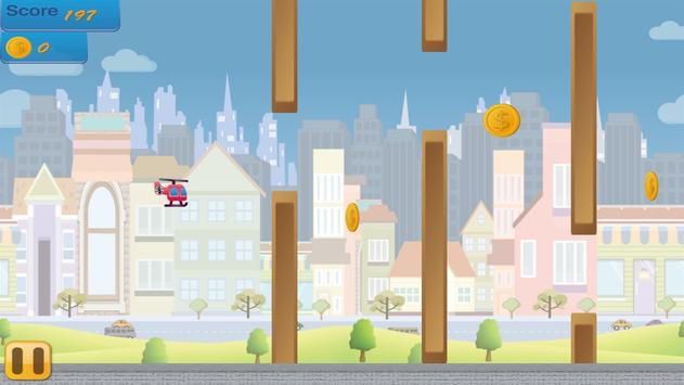 Flappy Copter - City Adventure screenshot 4
