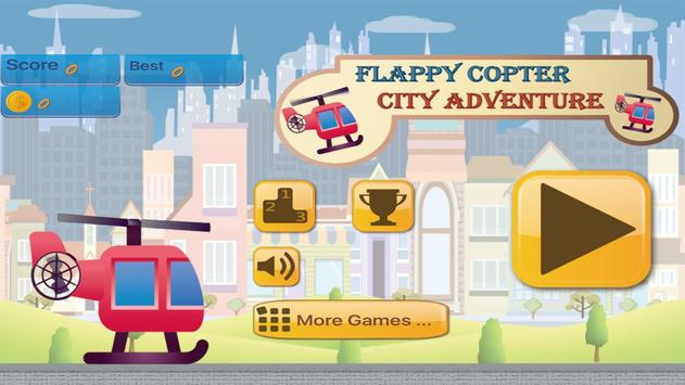 Flappy Copter - City Adventure poster