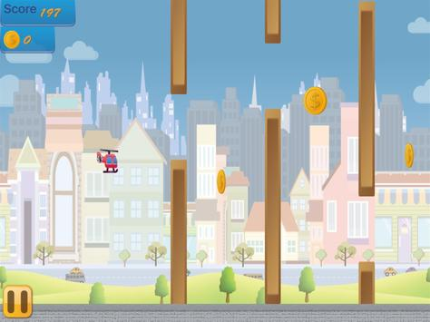 Flappy Copter - City Adventure screenshot 10