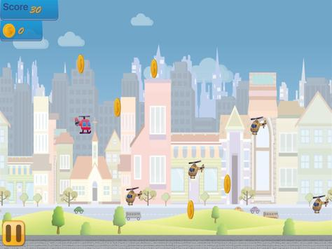 Flappy Copter - City Adventure screenshot 11