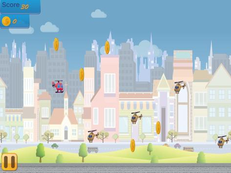 Flappy Copter - City Adventure screenshot 17