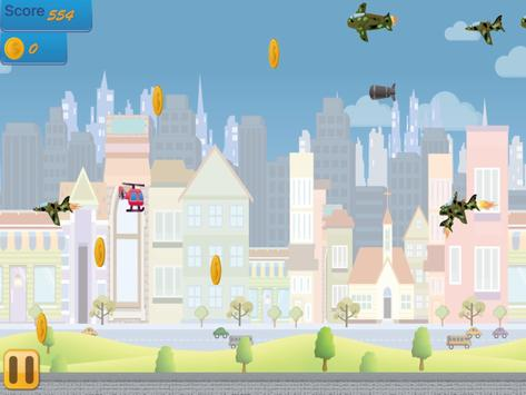Flappy Copter - City Adventure screenshot 14