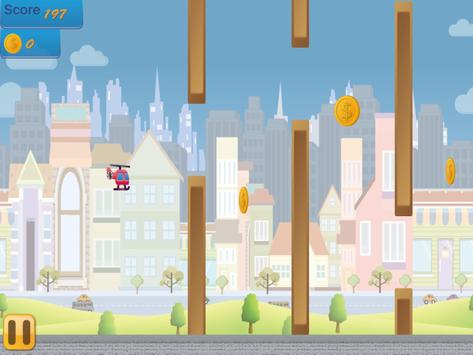 Flappy Copter - City Adventure screenshot 16