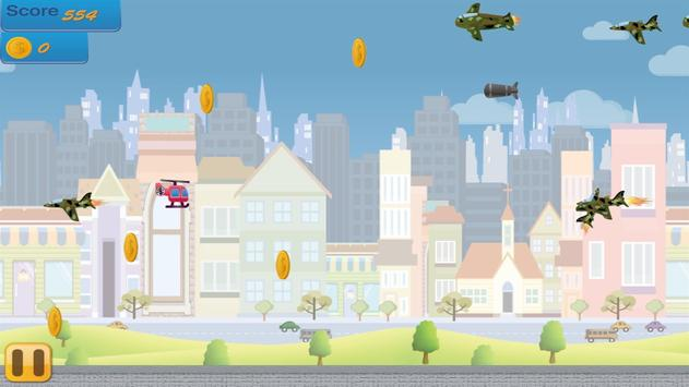 Flappy Copter - City Adventure screenshot 2