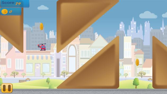 Flappy Copter - City Adventure screenshot 3