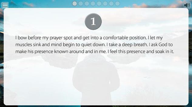 Reimagining the Examen apk screenshot
