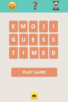 Emoji Guess Timed poster