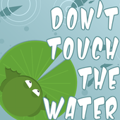 Don´t touch the water icon