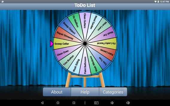 Decision Wheel Plus apk screenshot