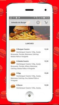 Artesão do Burger screenshot 1