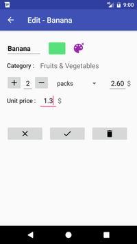 1L2C - Grocery List screenshot 2