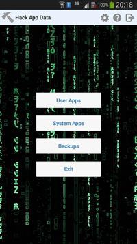 Hack App Data poster