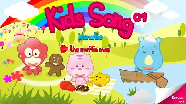 Kids Song Interactive 01 Lite poster