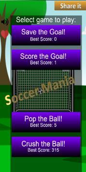 Soccer Mania poster