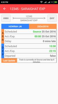 Train Tracker apk screenshot