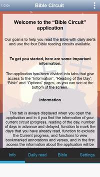 Circuito de Leitura Bíblica. Bíblia e muito mais. Cartaz