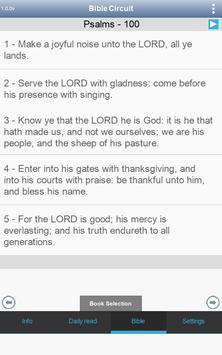 Circuito de Leitura Bíblica. Bíblia e muito mais. apk imagem de tela