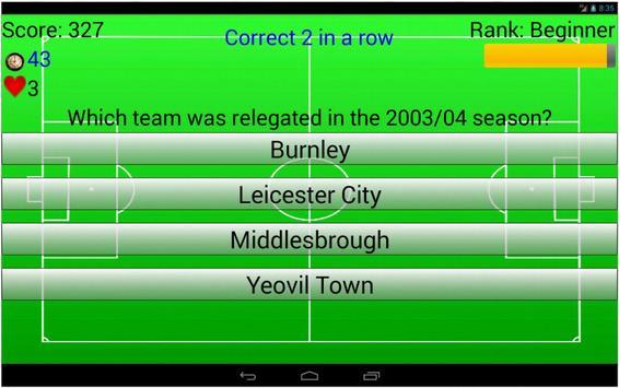 Quizimoto Soccer apk screenshot