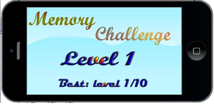Memory Challenge poster