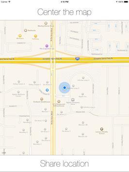 MapsMeetMe apk screenshot