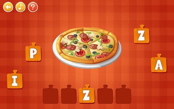 Food Learning For Kids screenshot 1