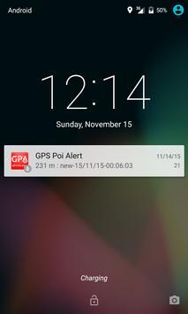GPS Poi Alert Free apk screenshot