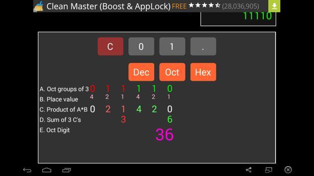 Binary Converter apk screenshot