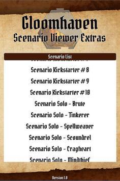 Gloomhaven Scenario Viewer Extras poster