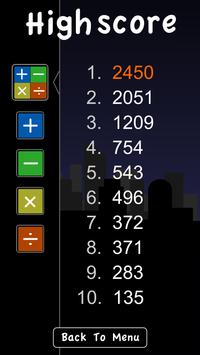 Brainee: Math Mania drop game screenshot 2
