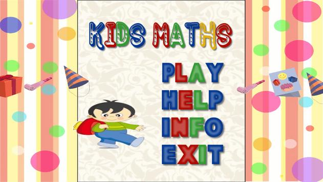 KIDS MATHEMATICS apk screenshot