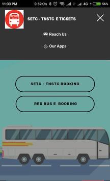 TNSTC SETC RED BUS TICKET BOOKING screenshot 1