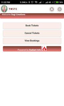 TNSTC SETC RED BUS TICKET BOOKING screenshot 2